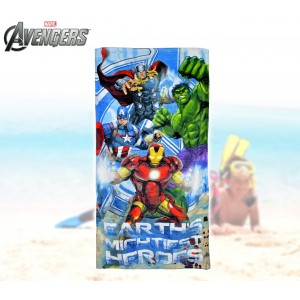 MV92277 Telo mare The Avengers supereroi 70x140 cm 100% cotone