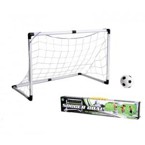 Porta da calcio con telaio in plastica rete e mini ball PEN@LTY ZONE 96x42x64 cm  Soccer goal