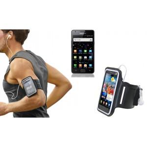 Fascia da braccio sportiva per Samsung i9100 schermo tattile