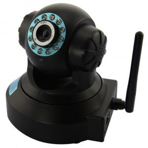 Telecamera Ip 10 led camera cam wireless infrarosso lan rj45 webcam motorizzata wifi
