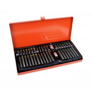 ST-2005 Kit inserti torx e esagonali con adattatori in comoda valigetta 41 pz