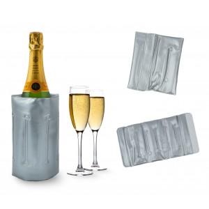 Sacca refrigerante portatile e per seau a glace cestello per il ghiaccio