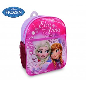 FR16105 Zaino scuola asilo elementari e tempo libero Frozen 31x25x10 cm
