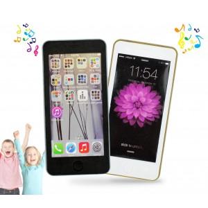 849665 Telefonino in stile smartphone per bambini con suoni e canzoni
