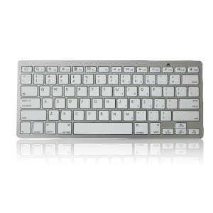 Tastiera qwerty bluetooth compatibile ipad 3 galaxy iphone