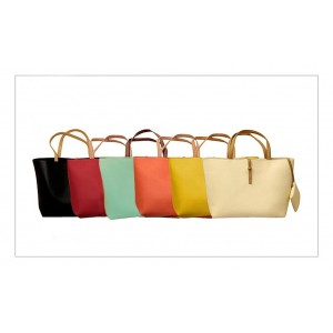Borsa a mano shopping bag MWS AHEAD modello Carol da spalla donna