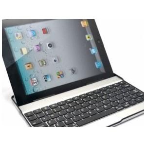 Custodia in Alluminio per iPad 2 e iPad 3 con Tastiera Bluetooth Ultrasottile