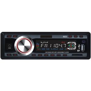 Stereo auto autoradio mp3 slot sd porta usb mp3-603 camper 12v