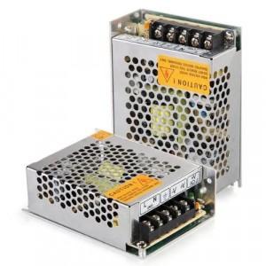 Alimentatore stabilizzato 3 A con switch e trimmer protezione sovraccarichi