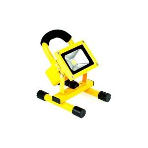 Faro led portatile ricaricabile con batteria integrata flood light 10W - 20W luce bianca fredda
