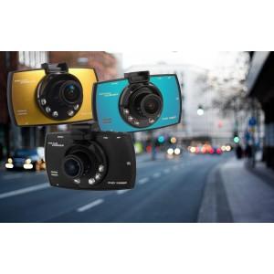 """Camera dvr auto schermo lcd 2,7"""" full hd 1080P con motion detection g-sensor video foto visione notturna"""