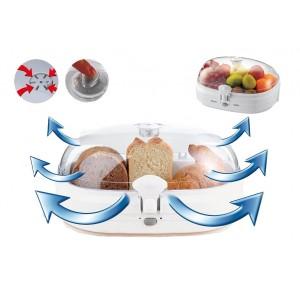 Contenitore sottovuoto salva freschezza per alimenti food storage box per pane frutta formaggi