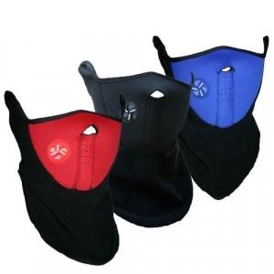 Maschera protettiva antivento in pile antifreddo per sport moto bicicletta copri collo e orecchie