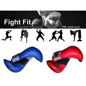 Guantoni per arti marziali unisex taekwondo karate fit boxe allenamento al sacco pugilato con chiusura a velcro guanti
