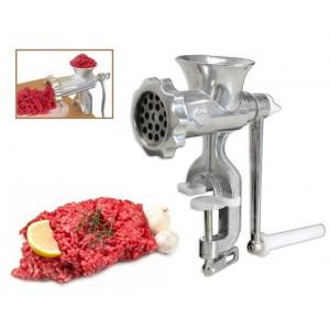 Trita carne verdure pasta manuale con manovella a fissaggio a morsa