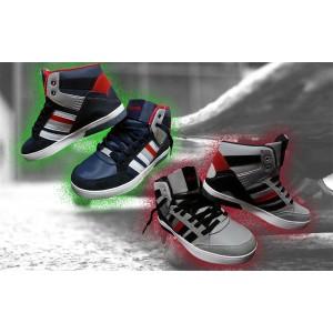 Scarpe sneaker uomo modello DURBAN con punta tonda e suola antiscivolo scarpa da ginnastica