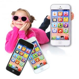 Telefonino Y-Phone cellulare interattivo impara l'inglese per bambini gioco didattico