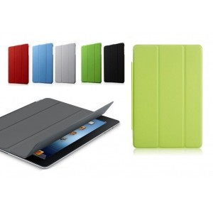 Smart cover magnetica custodia pieghevole per tablet Ipad 2-3 compatibile apple