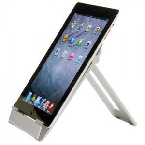 Supporto rigido per tablet universale regolabile orizzontale/verticale stand  tablet halter 20x15cm