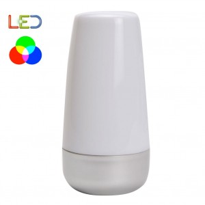 Lampada da tavolo multicolor a led color changing luce d'atmosfera cromoterapia