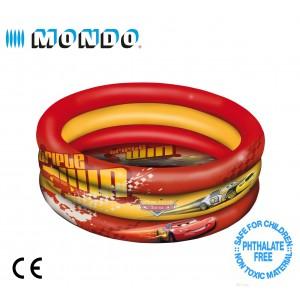 Piscina per bambini gonfiabile Cars 3 anelli diametro 150 cm Linea Mondo