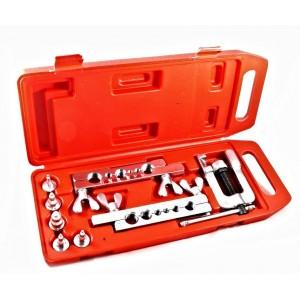 Pagliettatrice con 10 accessori in pratica valigetta svasatrice per tubi in rame ed ottone