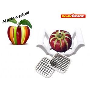 Taglia affetta mela a spicchi 3 in 1 per frutta e verdure in pochi secondi con 3 lame diversi tagli