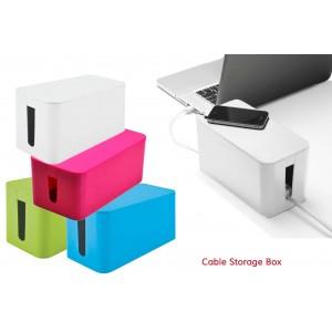 Organizer multiprese e cavi mini box organizer design moderno 23 x 11 x 12 cm