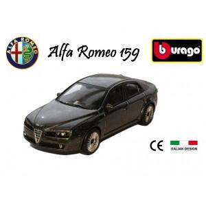 Modellino auto Bburago street fire ALFA ROMEO 159  berlina macchinina da collezione scala 1: 43