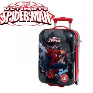 Trolley da viaggio Spiderman valigia ABS rigida 20 x 30 x 48 cm bagaglio a mano Marvel