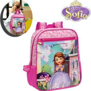 Zaino asilo e tempo libero principessa Sofia cartella scuola Disney Junior 23 x 28 x 10 cm