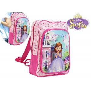 Zaino a spalla scuola e tempo libero principessa Sofia Disney Junior 30 x 16 x 40 cm
