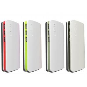 Power bank 30000 mha multifunzione batteria portatile smartphone  3 porte usb