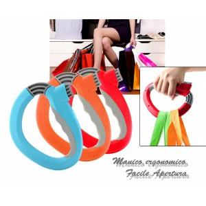 Maniglia shopping ideale per i sacchetti della spesa manico ergonomico