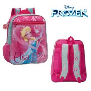 Zaino asilo e tempo libero principessa Elsa  cartella scuola Frozen Disney Junior 23 x 28 x 10 cm