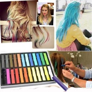 Gessetti colorati per tintura temporanea per capelli
