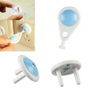 Copripresa proteggi presa universale set da 6 pezzi in confezione con chiavetta di sicurezza