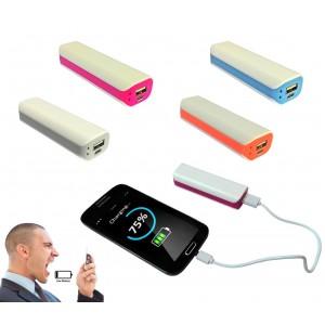 Power bank 6500 mha multifunzione batteria portatile smartphone design compatta formato tascabile