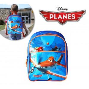 Zaino scuola asilo dusty planes con stampa morbida in rilievo mono comparto Disney