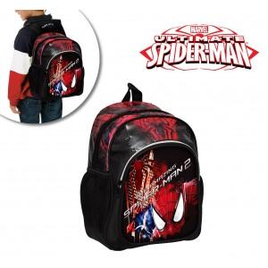 Zaino scuola asilo e tempo libero Spiderman Marvel cartella a spalla 33 x 22 x 12 cm 61054