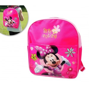 Zaino asilo Minnie GIRLS ANYTHING cartella scuola Disney 32 x 26 x 12 cm