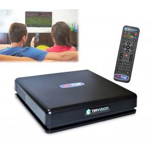 Decoder tim vision con telecomando 1080p Full HD ingresso HDMI