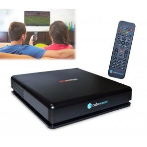 Decoder digitale terrestre cubivision con telecomando mediaplayer ip Full HD ingresso HDMI