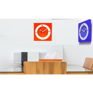 Orologio da parete design MP3 disponibile in due varianti 26  x 26 cm