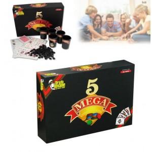 Gioco da tavolo MEGA 5 il gioco delle 5 combinazioni