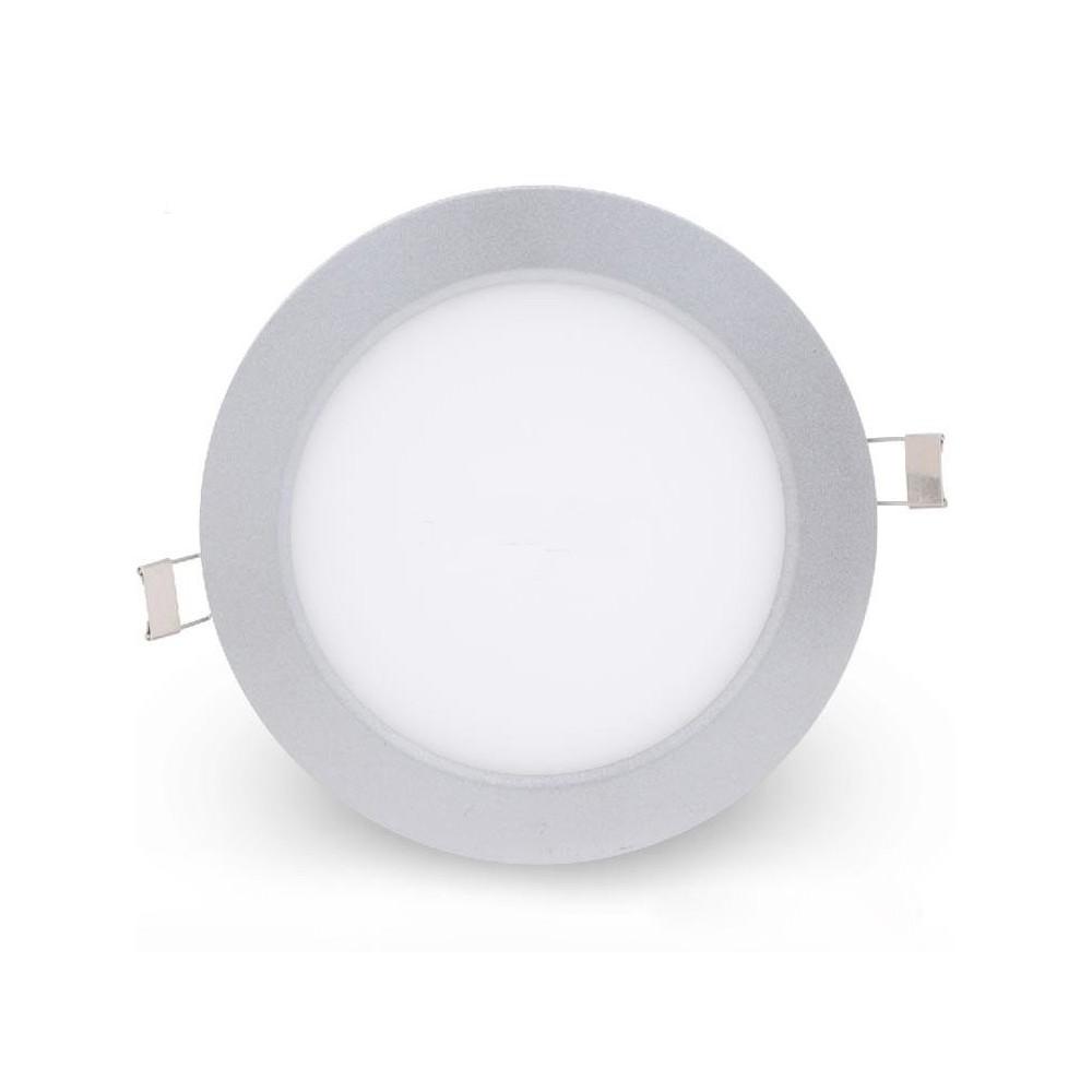 Faretto led luce bianca risparmio energetico circolare diverse misure e watt