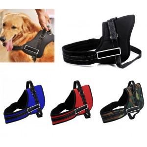 Pettorina di addestramento imbottita per cani bardatura regolabile sport guinzaglio dog harness