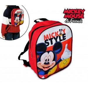 MK16506 Zainetto asilo e tempo libero Mickey Mouse