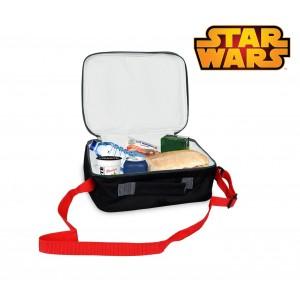 SWE7046 Borsa a tracolla porta merenda termica Star Wars 26 x 20 x 9 cm