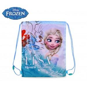 WD16997 Zaino a sacco chiusura a strozzo Frozen
